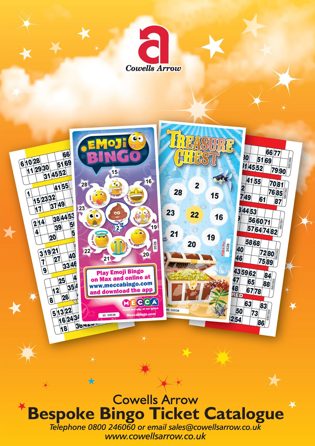 Bingo Ticket Catalogue